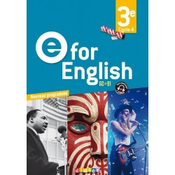 E for English 3e - Manuel - 2017 - Didier