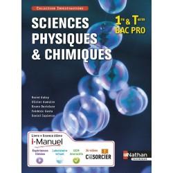 Sciences physiques & chimiques - 1e et Tle Bac Pro - Col. Investigations - 2015 - Nathan