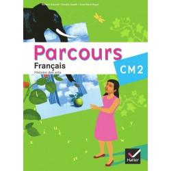 Parcours Français CM2 - Manuel - 2010 - Hatier