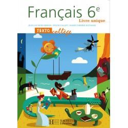 Textocollège 6ème - Manuel - 2005 - Hachette