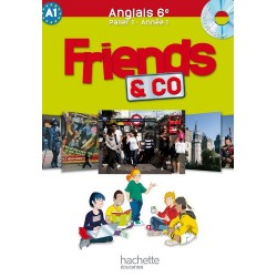 Friends & Co 6ème - Manuel + CD audio - 2011 - Hachette