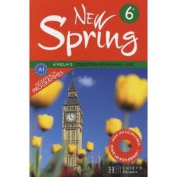 New Spring 6ème - Manuel + CD encarté - 2006 - Hachette