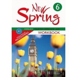 New Spring 6ème - Workbook - 2006 - Hachette