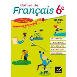 Cahier de Français 6e - Cahier de l'élève - 2016 - Hatier