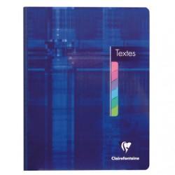 Cahier de texte - Clairefontaine - Couverture cartonnée brochée - 144 pages - 90 G