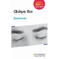 Oedipe Roi - Sophocle - Les Classiques Hachette