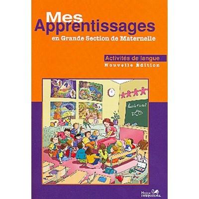 Mes apprentissages GS - Activités de langue - Hatier
