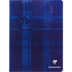 Cahier Clairefontaine 48 pages - 17x22 - Piqué- 90g - Grands carreaux