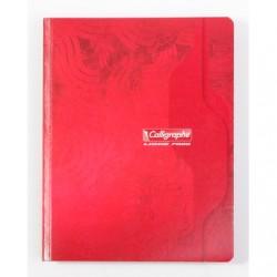 Cahier Brochure Calligraphe 192 pages - 17x22 - 70g - Petits Carreaux