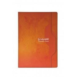 Cahier Brochure Calligraphe 288 p. - 17x22 - 70g - Grands Carreaux