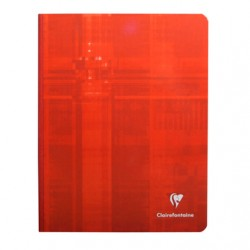 Cahier Brochure Clairefontaine 192 pages - 17x22 - 90g - Petits carreaux