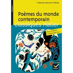 Poèmes du monde contemporain - Oeuvres & Thèmes - Hatier