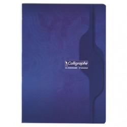 Cahier Calligraphe 96 pages - A4 - 70g - Piqué - Petits Carreaux