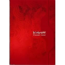 Cahier Calligraphe 140 pages - A4 - 70g - Piqué - Grands Carreaux