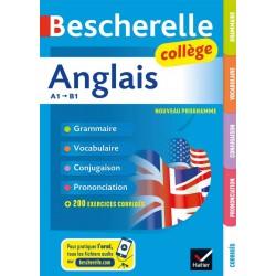 Bescherelle Anglais collège - (6e/ 5e / 4e / 3e ) - Hatier