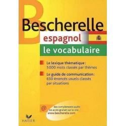 Bescherelle - Espagnol : le vocabulaire - Hatier