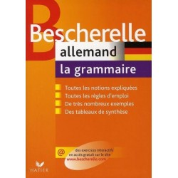 Bescherelle - Allemand : la grammaire - Hatier