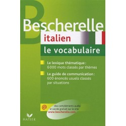 Bescherelle - Italien : le vocabulaire - Hatier