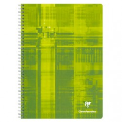 Cahier Spirales Clairefontaine 180 pages - A4 - 90g - Petits carreaux