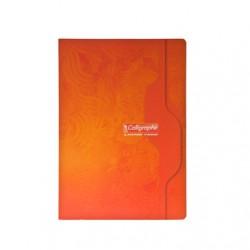 Cahier Brochure Calligraphe 192p - A4 - 70g - Petits Carreaux