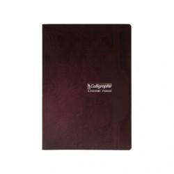 Cahier Brochure Calligraphe 192p - A4 - 70g - Grands Carreaux