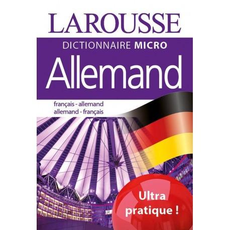 Dictionnaire Larousse Micro - Français - Allemand