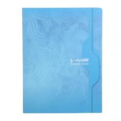 Cahier Calligraphe 140 pages - 24*32 - 70g - Piqué - Grands Carreaux