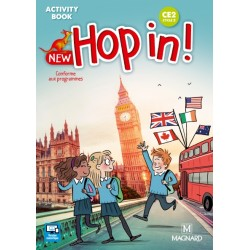 New Hop in! CE2 - Activity Book - 2018 - Magnard