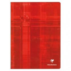 Cahier Clairefontaine 192 pages - 24*32 - Piqué - 90g - Grands carreaux