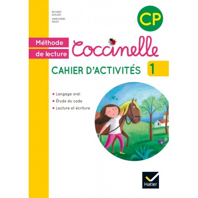 Coccinelle CP - Cahier d'activités 1 - 2016 - Hatier
