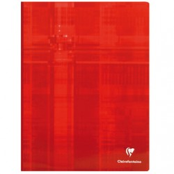 Cahier Brochure Clairefontaine 192 pages - 24*32 - 90g - Petits carreaux