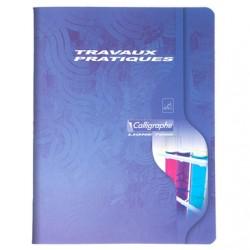 Cahier TP Calligraphe 96 pages - 17*22 - 70 / 90 g - Piqué - Grands Carreaux