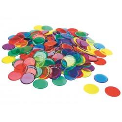 Paquet de 50 Jetons couleurs Ecolo