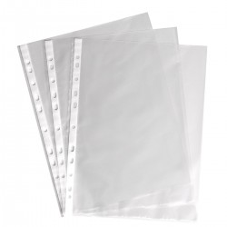 Boite de 100 pochettes perforées Luxe 80 Microns