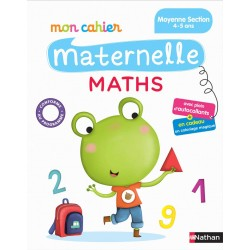 Mon cahier maternelle - MS - Maths - 2016 - Nathan