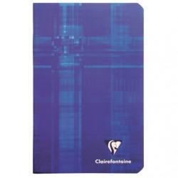Carnet Clairefontaine 96 pages - 11*17 - 90g - Piqué - Petits Carreaux