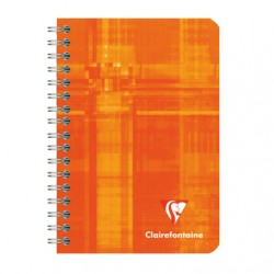 Carnet Spirales Clairefontaine 100 pages - 9*14 - 70g - Petits Carreaux
