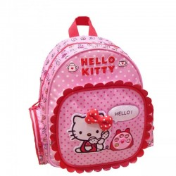 Mini Sac à dos Hello Kitty 14829 Rose - Maternelle - Graffiti