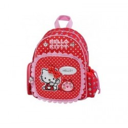 Mini Sac à dos Hello Kitty 14829 Rouge - Maternelle - Graffiti