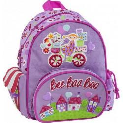 Mini Sac à dos Bee Baa Boo 14029 Violet - Maternelle - Graffiti