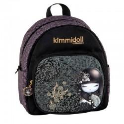 Mini Sac à dos Kimmidoll 15329 Noir - Maternelle - Graffiti