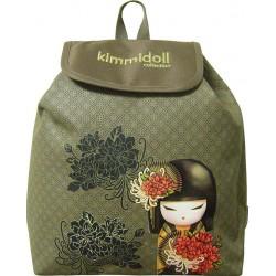 Mini Sac à dos Kimmidoll 15330 Vert - Maternelle - Graffiti