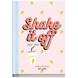 Agenda scolaire 2017 - 2018 - SHAKE IT OF