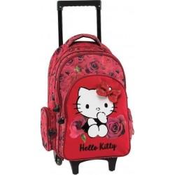 Cartable à roulettes Hello Kitty 178751 - Graffiti