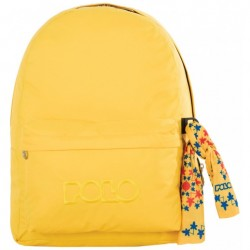 Sac à dos Polo Backpack - 1 Poche - Jaune