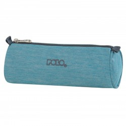 Trousse Ronde Polo Big Roll - Jean Turquoise