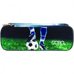 Trousse Ovale Polo Glow Football - 2 Compartiments