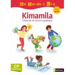 Un Monde a lire Kimamila CP - Série Blanche - Cahier-Livre 1 - 2019 - Nathan