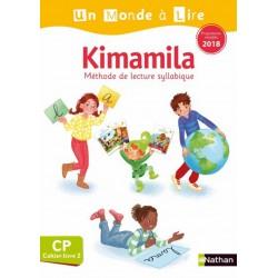 Un Monde a lire Kimamila CP - Série Blanche - Cahier-Livre 2 - 2019 - Nathan
