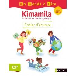 Un Monde a lire Kimamila CP - Série Blanche - Cahier d'écriture - 2019 - Nathan
